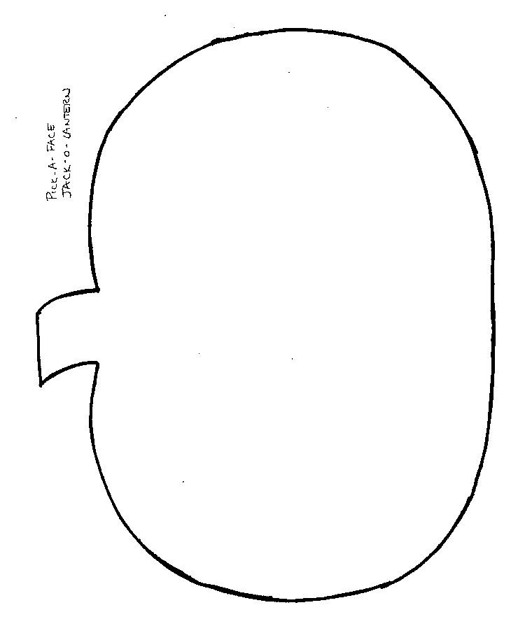 Crafts Print Your Jack O Lantern Template At Allkidsnetwork