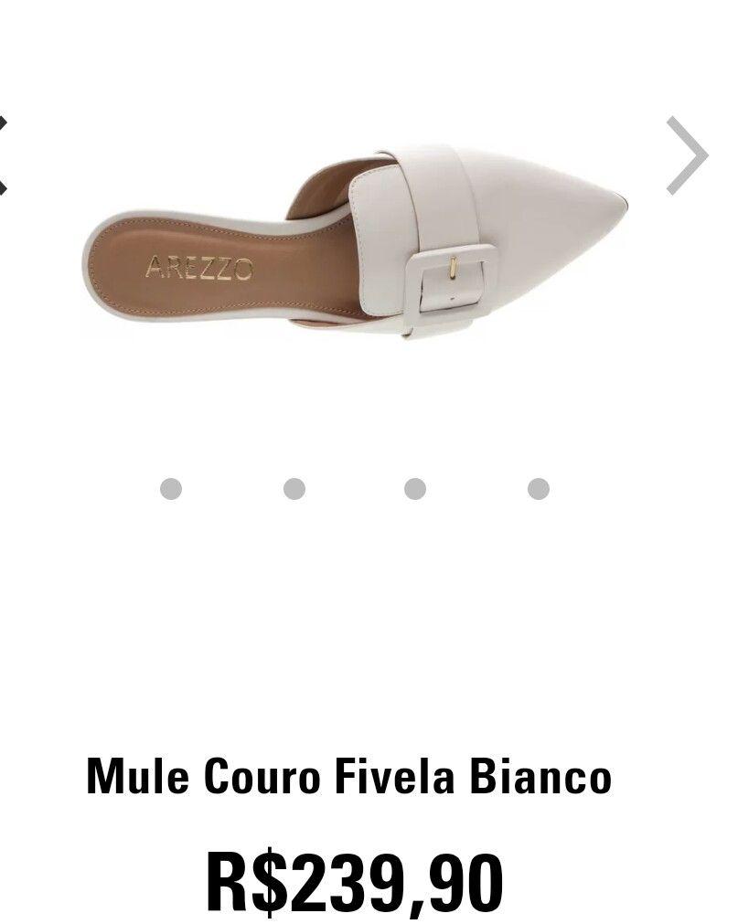 926037c8b Mule arezzo 2018 | calçados | Mule arezzo, Sapatos femininos, Sapatos