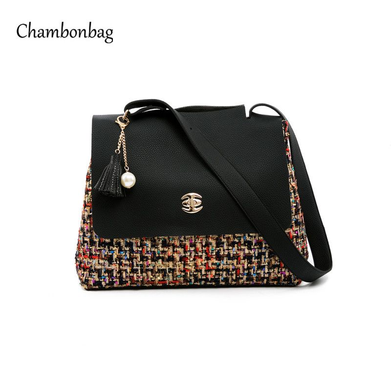 de2bb96176 Designer Large Shoulder Bag Crossbody Female Fashion Patchwork Ladies  Handbags artificial Leather New Taschen Femme Sac N365