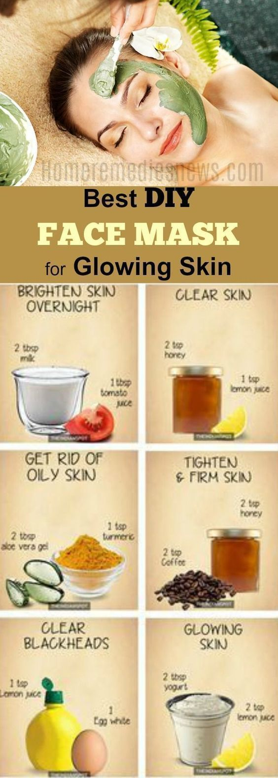 Photo of 5 Best DIY Face Mask For Acne Scars Anti-Aging Glowing Skin And Soft Skin. O Ski…