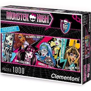 Panorama Puzzle - 1000 Teile - Monster High
