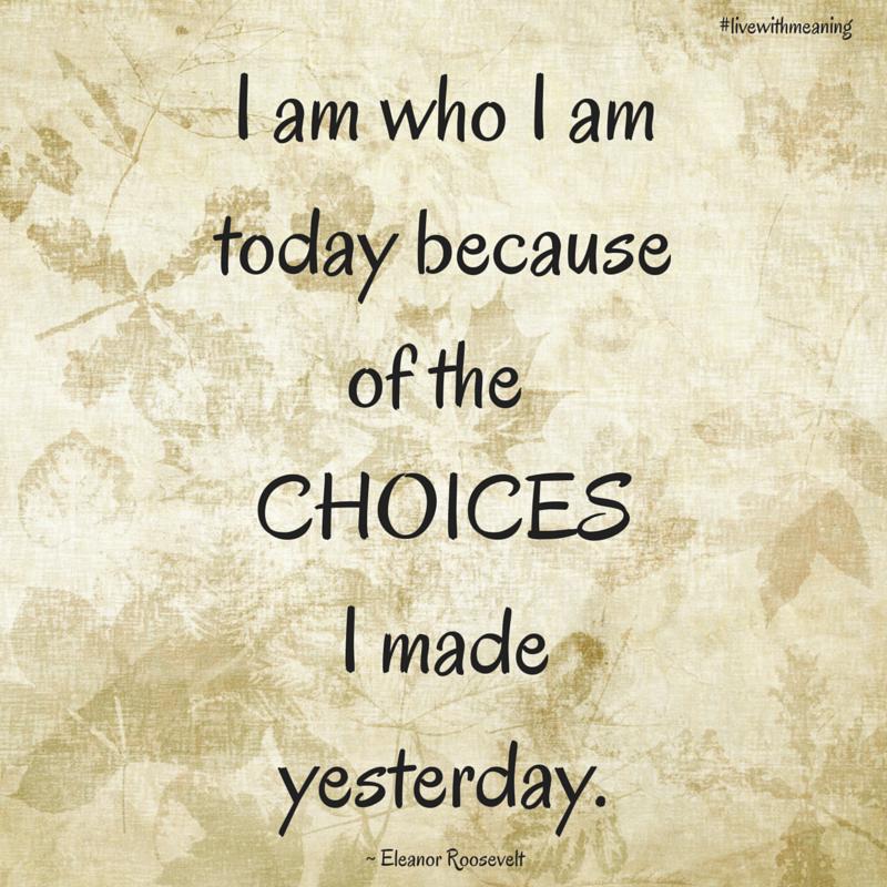 i am who i am today