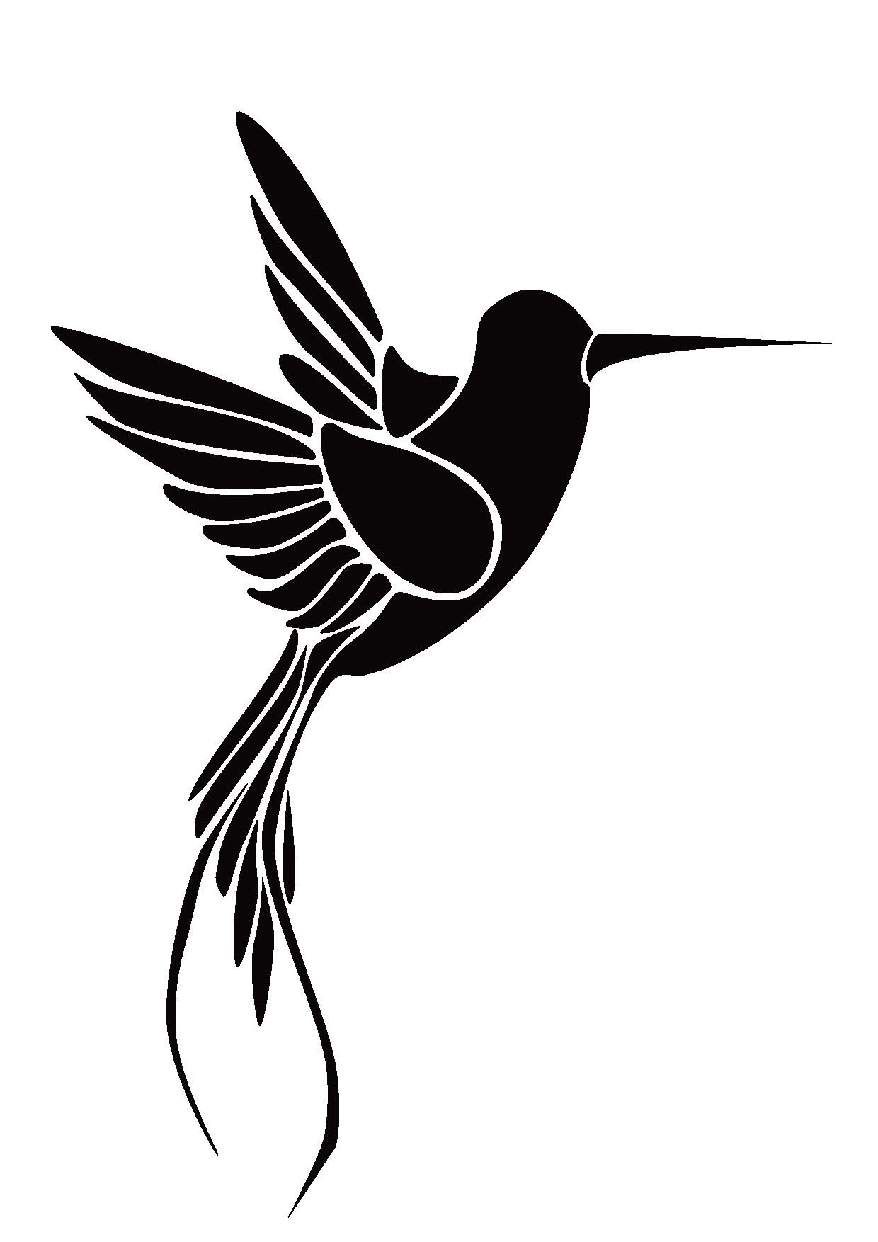 hummingbird stencil Google Search Animal stencil