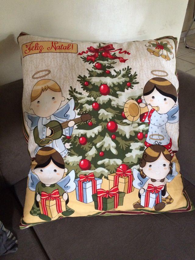 Almofadas de Natal – Eu que fiz | Só Mulher Entende.