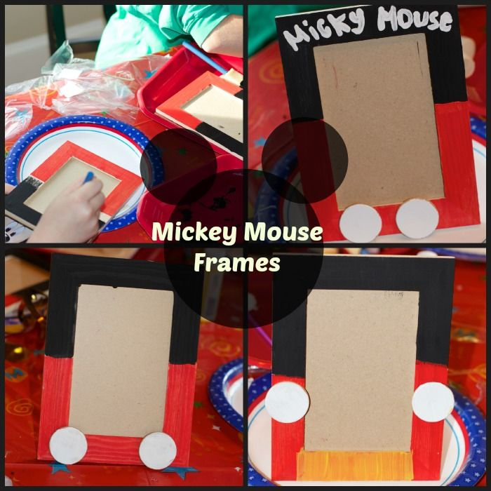 mickey mouse frames - Mickey Mouse Picture Frames