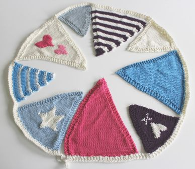 Another Free Knitted Bunting Pattern Thanks So Xox Crafts
