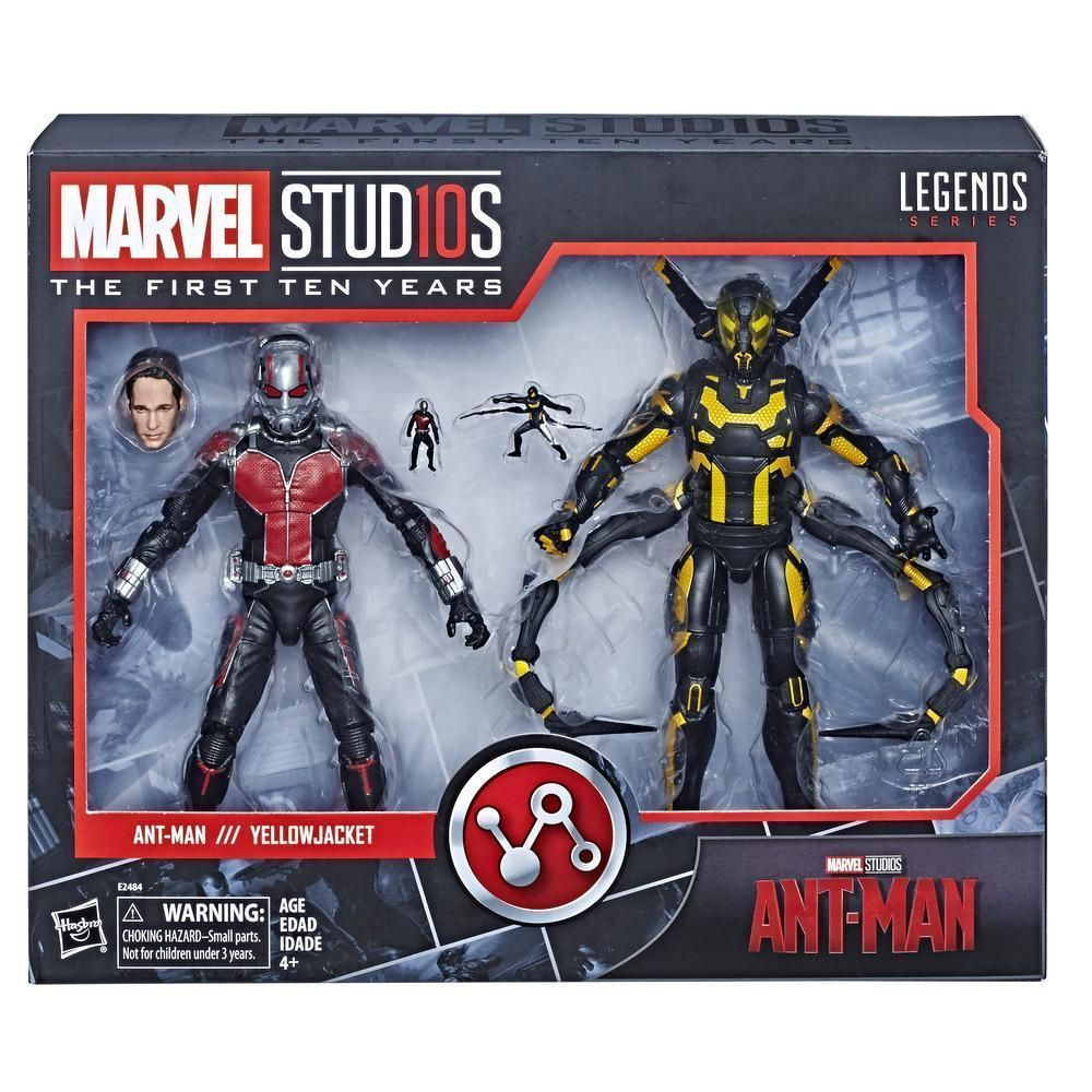 Yellow Jacket Marvel Legends Studio 10th Anniversary Ant-man loose action figure