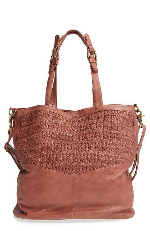 Day Mood Billie Braided Leather Tote