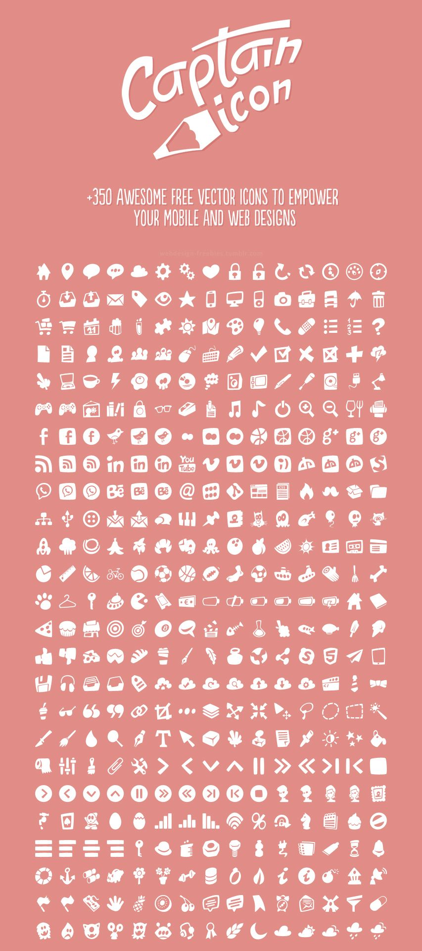 Captain Icon +350 Awesome free vector icons to empower