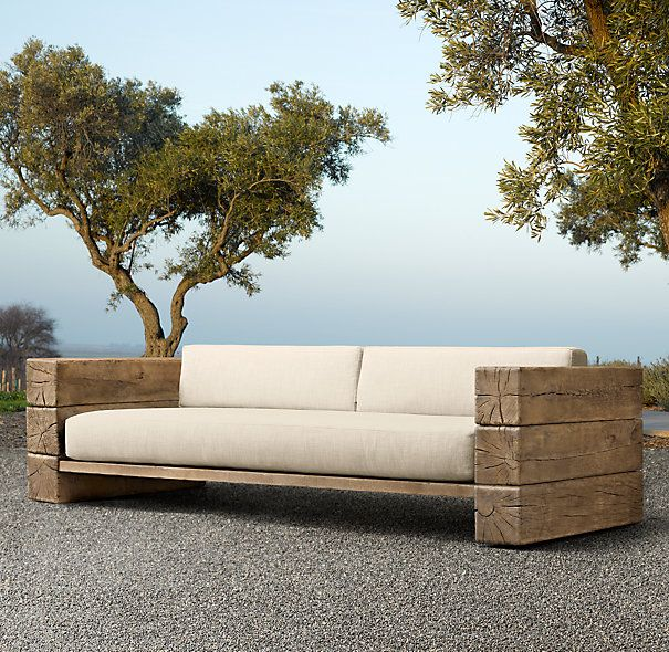 90 Aspen Sofa Restoration Hardware Diy Outdoor Furniture Diy
