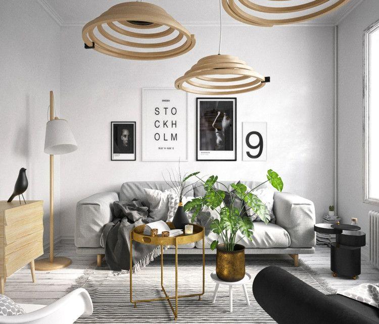 Atemberaubende Wohnzimmer Skandinavisch Und Phantasievolle