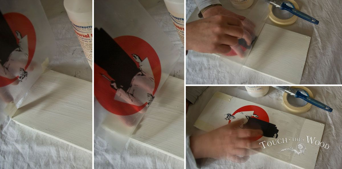 How To Transfer Print Onto Wood Pva Glue Mod Podge Replacement