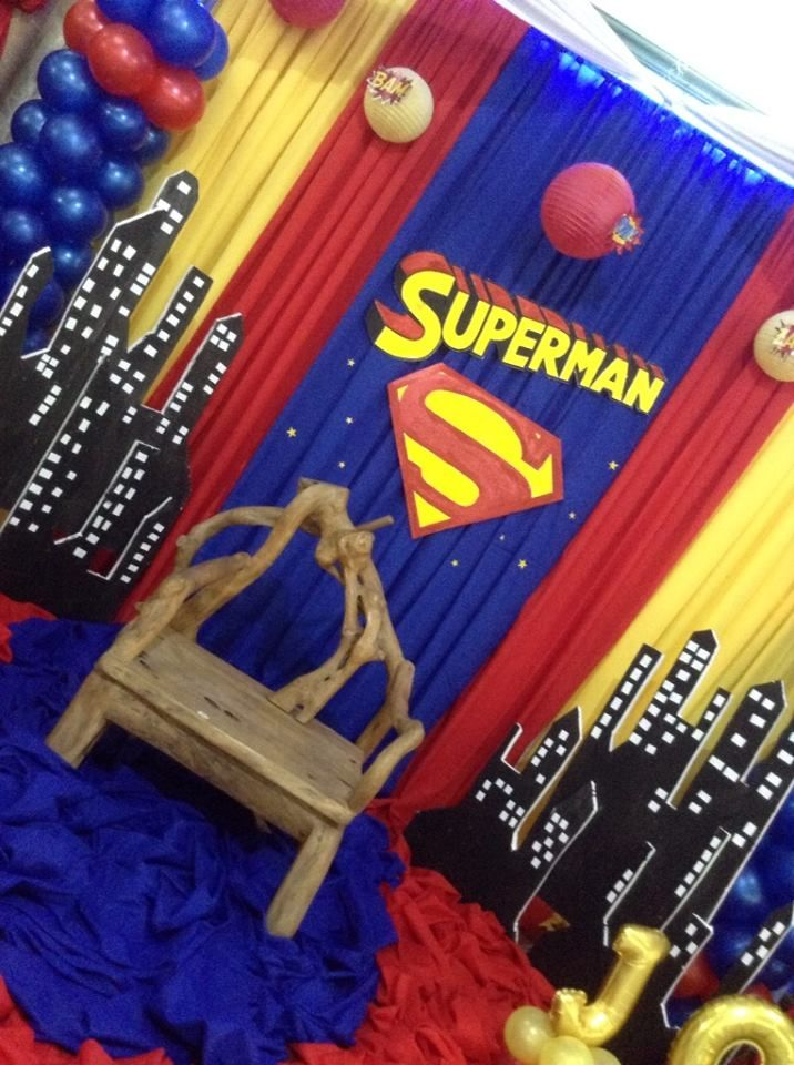 Baby Shower Themes · Superman Theme