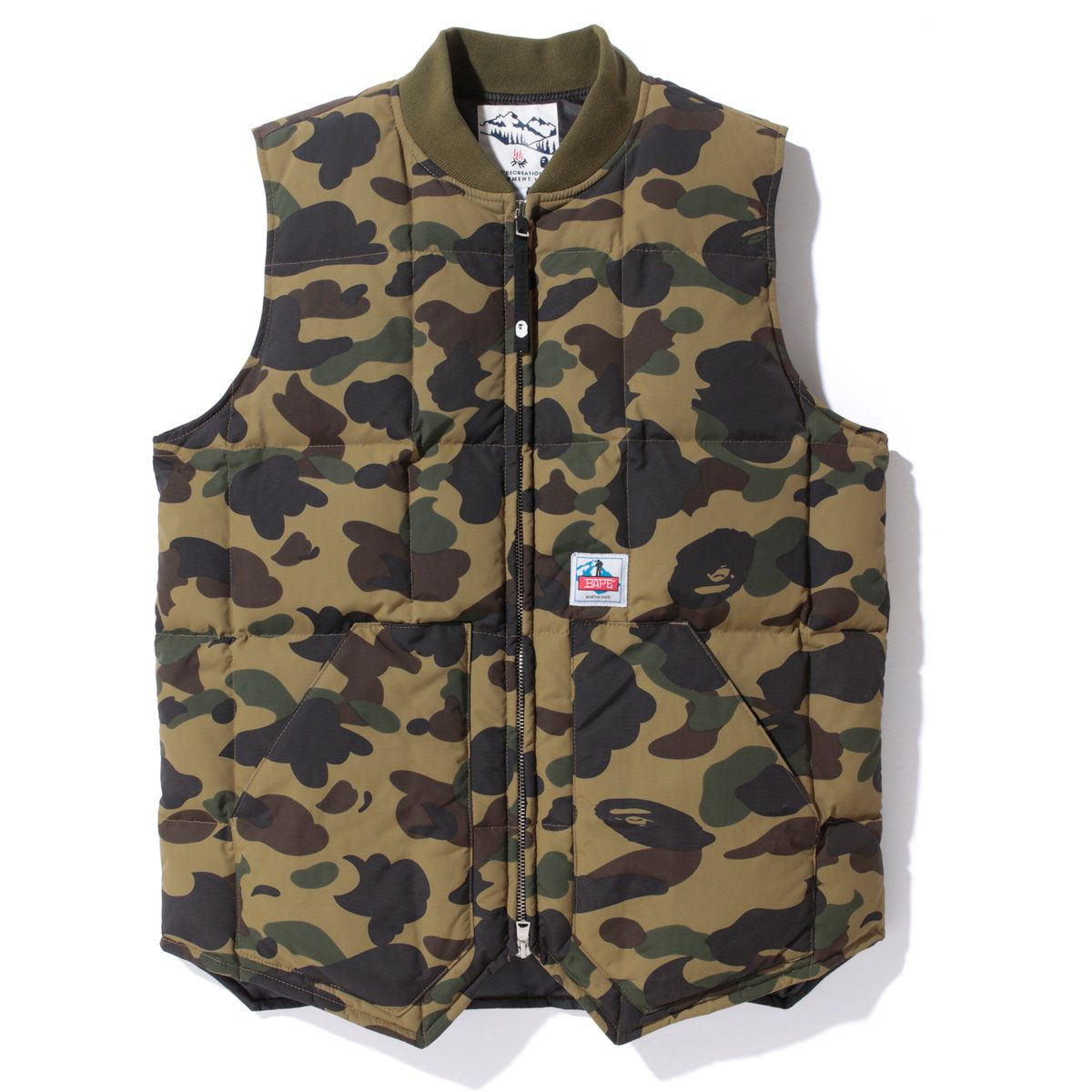 23c01e79b BAPE ® Camo Vest | SNEAKER FASHION RARE ITEM !!!! | A bathing ape ...