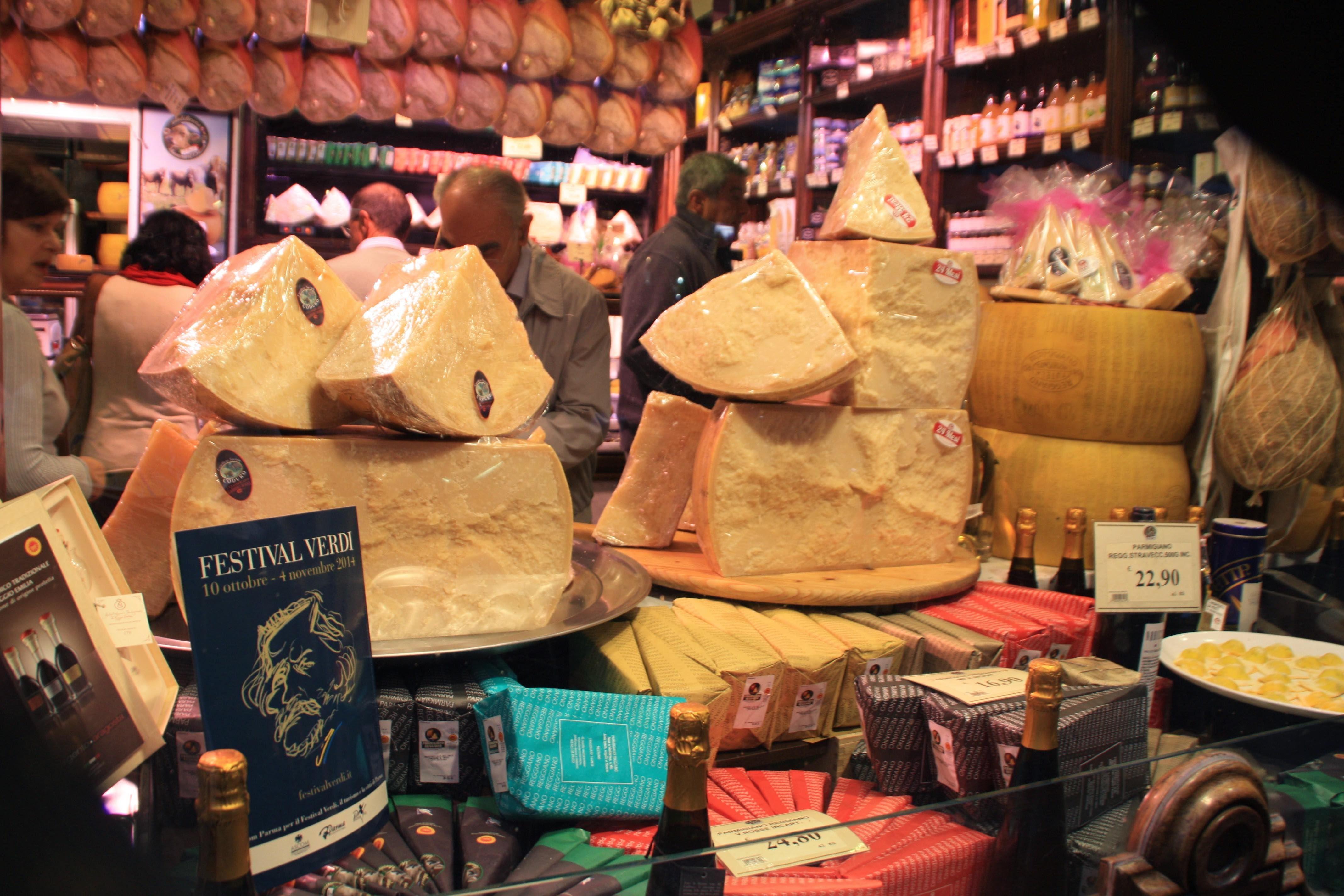 The Cheesy Delights Looks Inviting In Parma Italy Cheesy