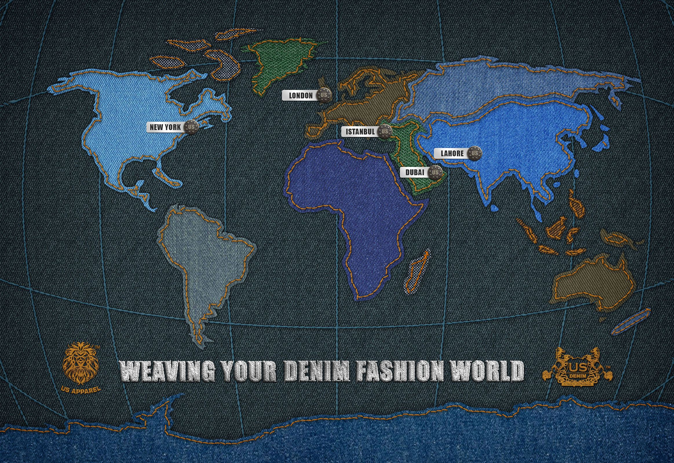 The World Denim Map The Ou0027jays Searching