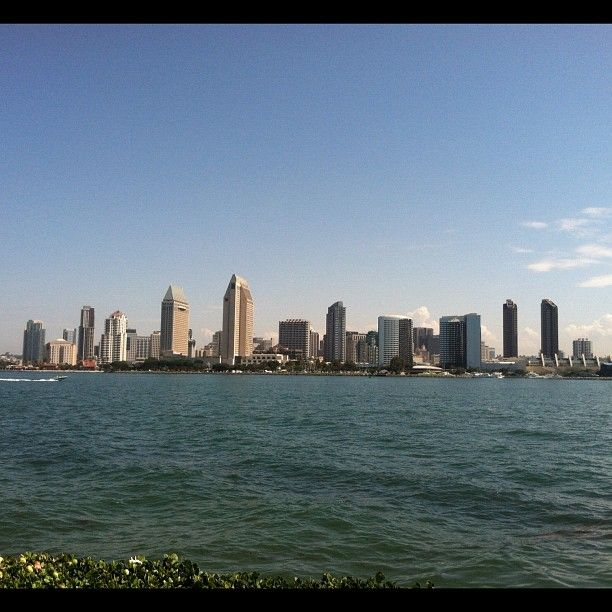 SanDiego Skyline In Another Beautiful Summer Day Stayclassy SD Finestcity