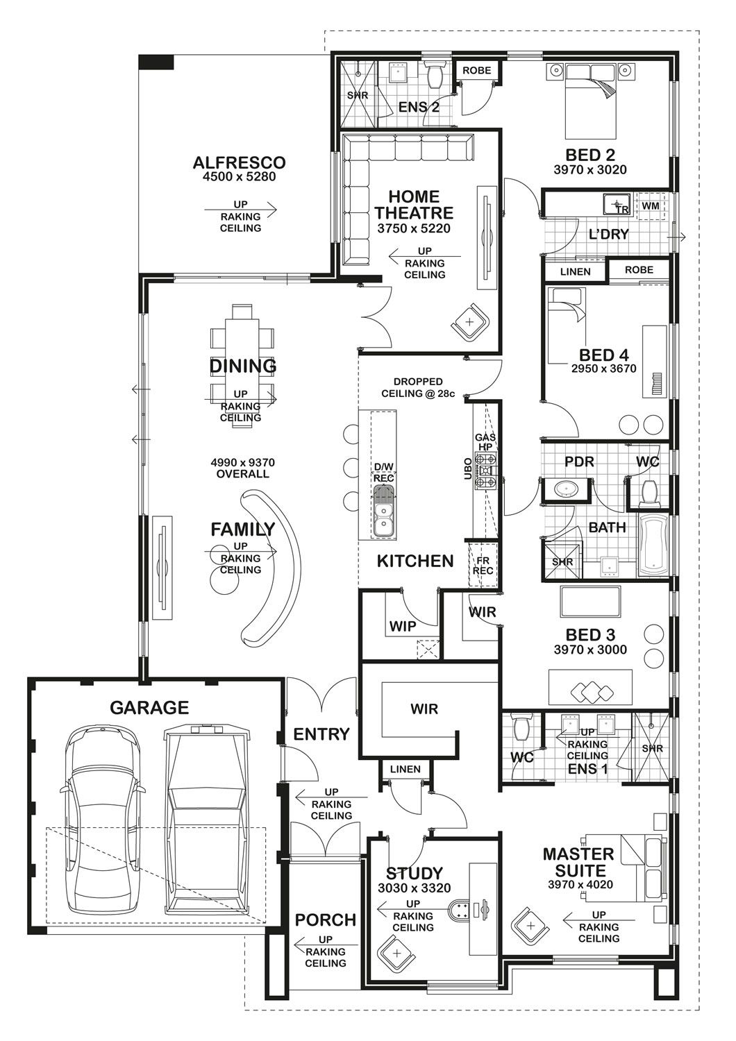 Barcelona by boutique homes floor plan floorplans plans in house also rh pinterest