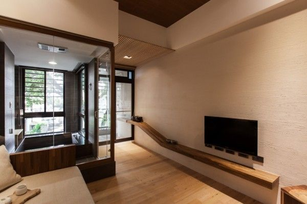 Modern Japanese House Architecture Arquitectura Japanese Living