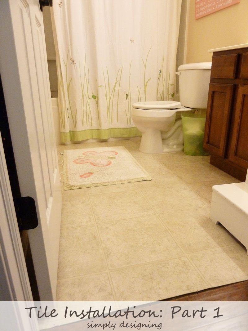 Master Bathroom Remodel Part 5 Tile a Shower Tile