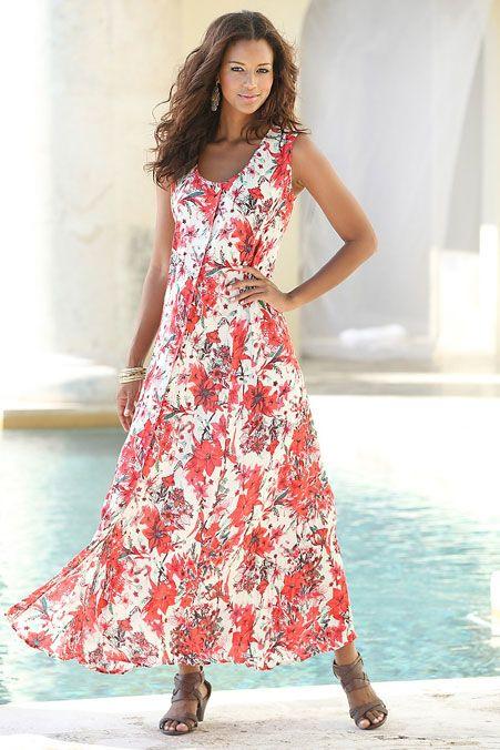 Plus-Size Button Front Dress