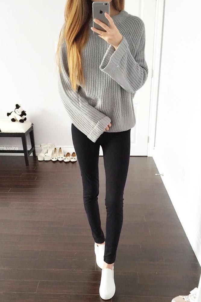 24 Super Cute Outfits For School For Girls To Wear This -5424