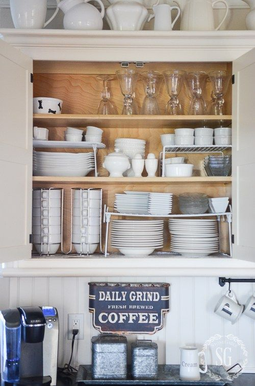 Organize Your Kitchen In Ten Minutes A Day Stonegable Clean Kitchen Cabinets Kitchen Cabinets Best Kitchen Cabinets