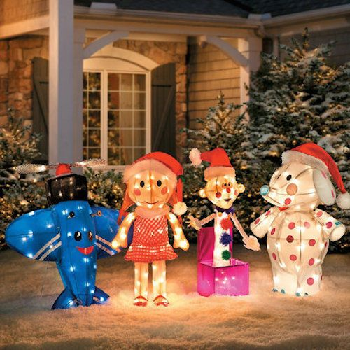 misfit toys rudolph santa hermey elf christmas yard art decor lights tinsel lawn rudolphtherednosereindeer - Misfit Toys Outdoor Christmas Decorations