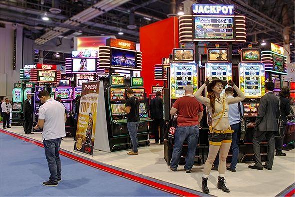 Visitantes de todo el mundo se reunieron en el stand de EGT en G2E Las Vegas