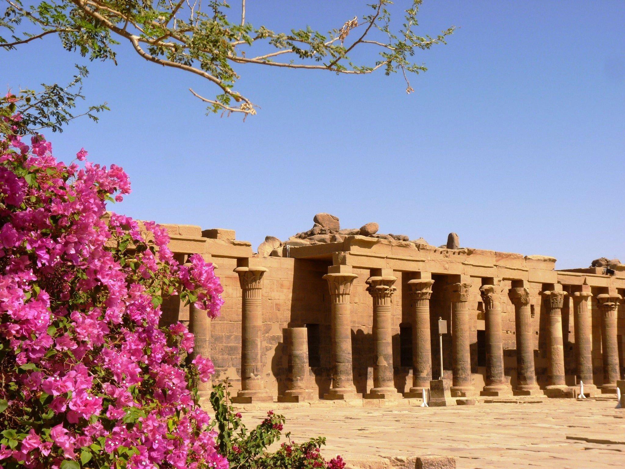 Isis Tempel, Egypt