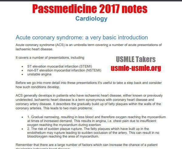 Pass Medicine Pdf