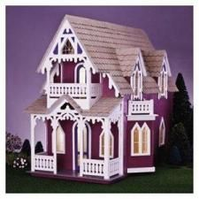 Looks fun!  Vineyard Cottage Dollhouse Kit  $69.99 shipped...that's over 50% off!