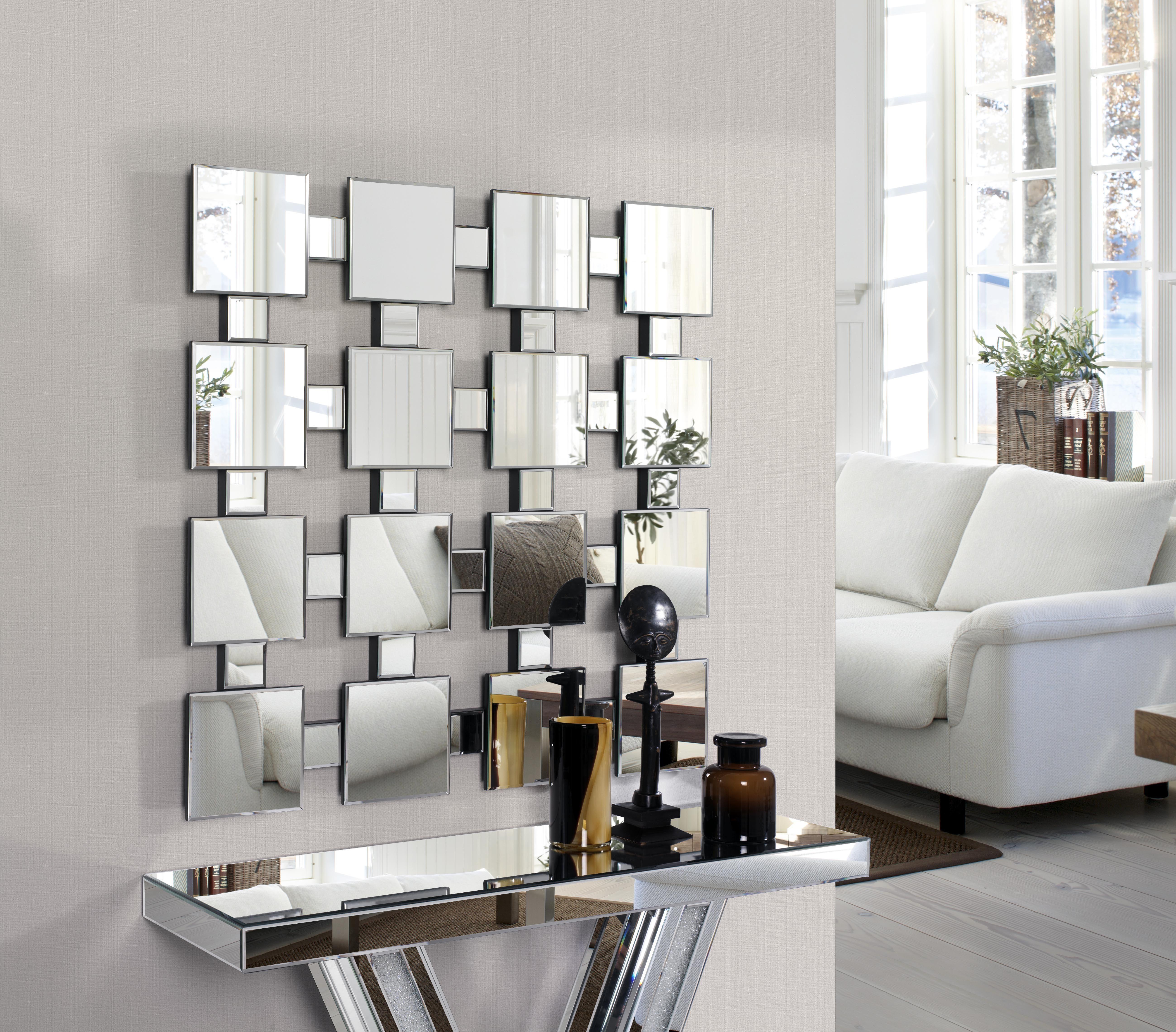 Ofertas espejos de dise o rebajados for Espejos decorativos cuadrados