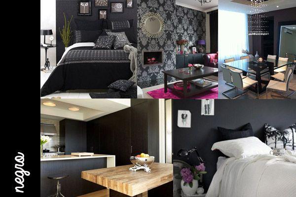 Decoración #black #decoración #blanco #gabriellafiori