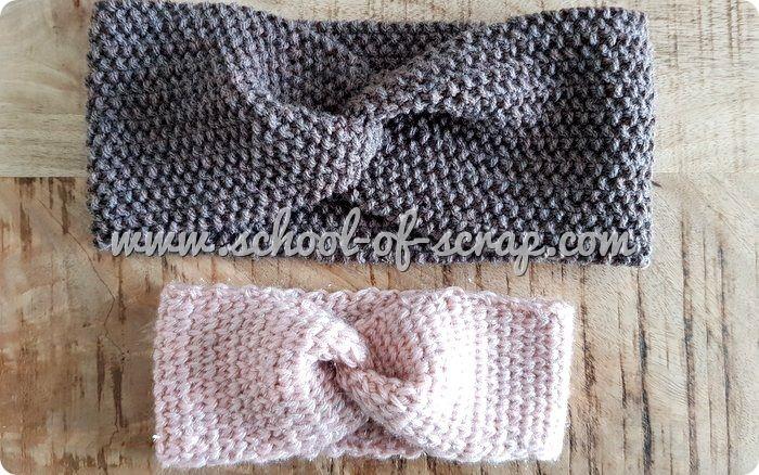 Tutorial fascia a turbante di lana all'uncinetto o a maglia + RAK of Kindness