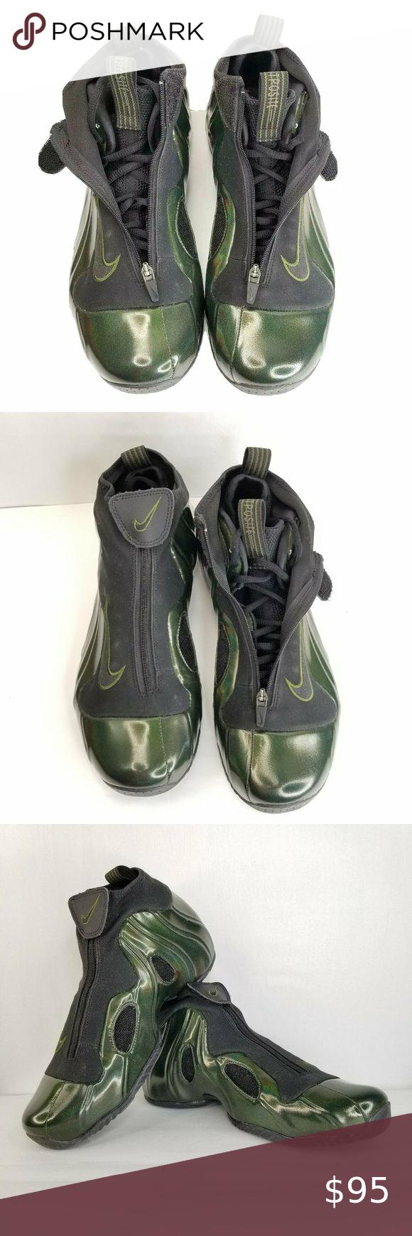 Nike AIR FLIGHTPOSITE Shoes Green