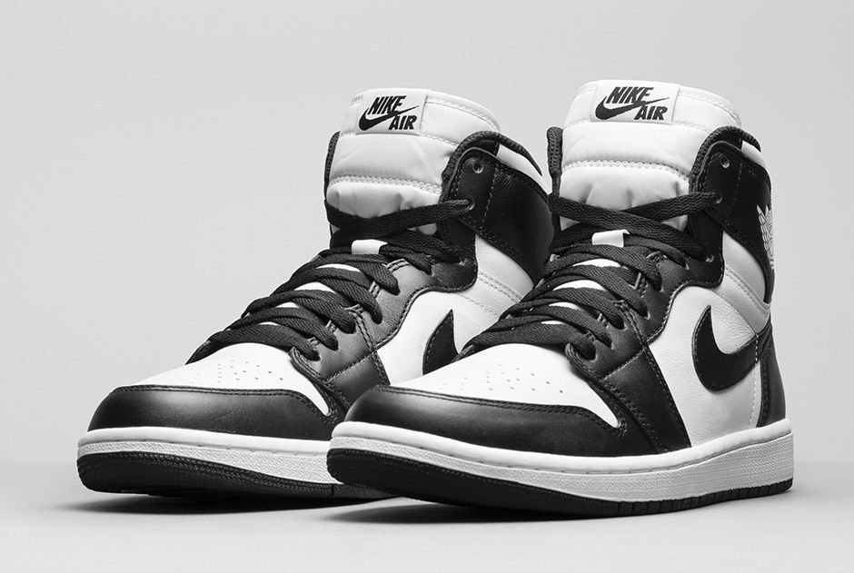 nike air jordan shoes black&white