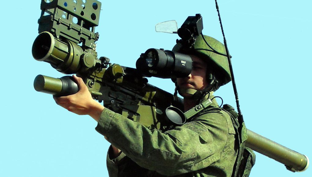 Russia Offers Verba MANPADS to India