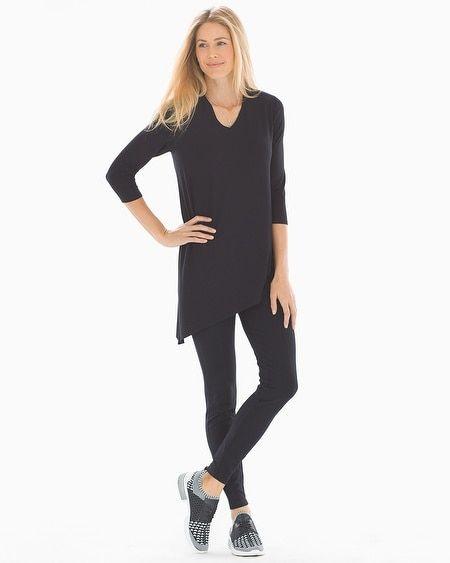 3783aa18e3b Soma Asymmetrical Hem Tunic Tee Black in 2019 | Products | Tunic ...