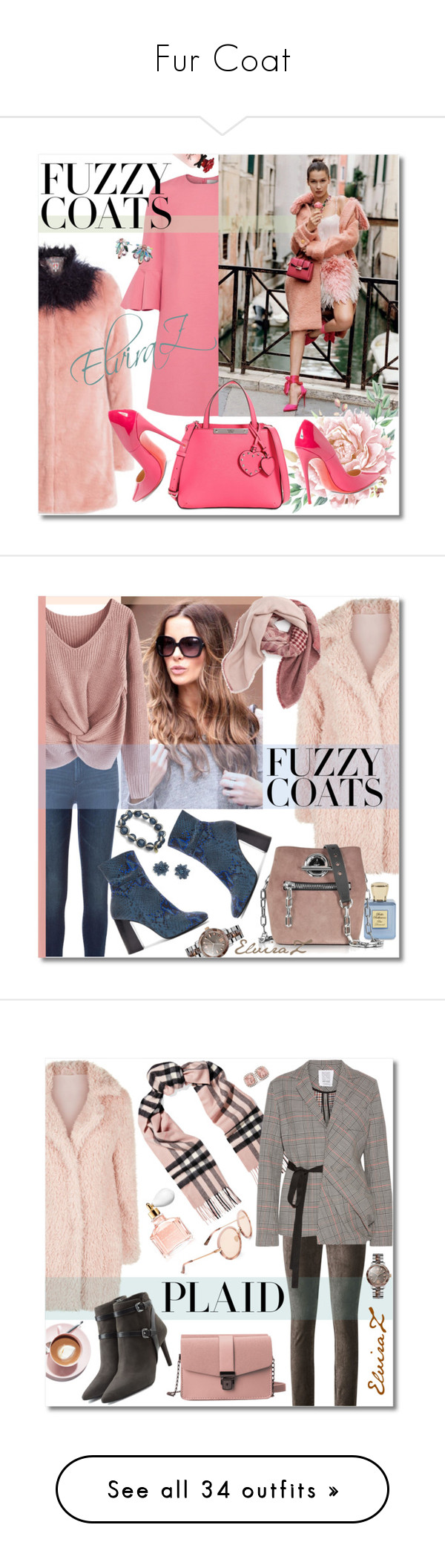 """""""Fur Coat"""" by elza76 ❤ liked on Polyvore featuring Shrimps, Valentino, Dolce&Gabbana, GUESS, Christian Louboutin, Matthew Williamson, Bella Bellissima, Alexander Wang, BP. and Vivienne Westwood"""