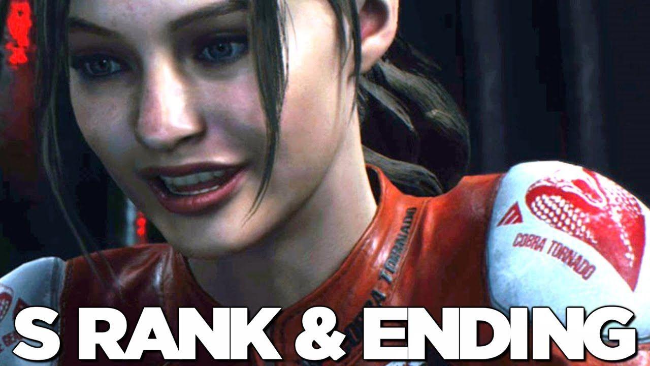 Resident Evil 2 Remake S Rank Claire A Ending Walkthrough