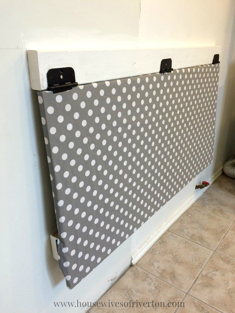 Diy Fold Down Laundry Table