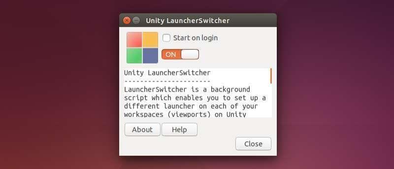 Customize Unity Launcher Using Unity LauncherSwitcher
