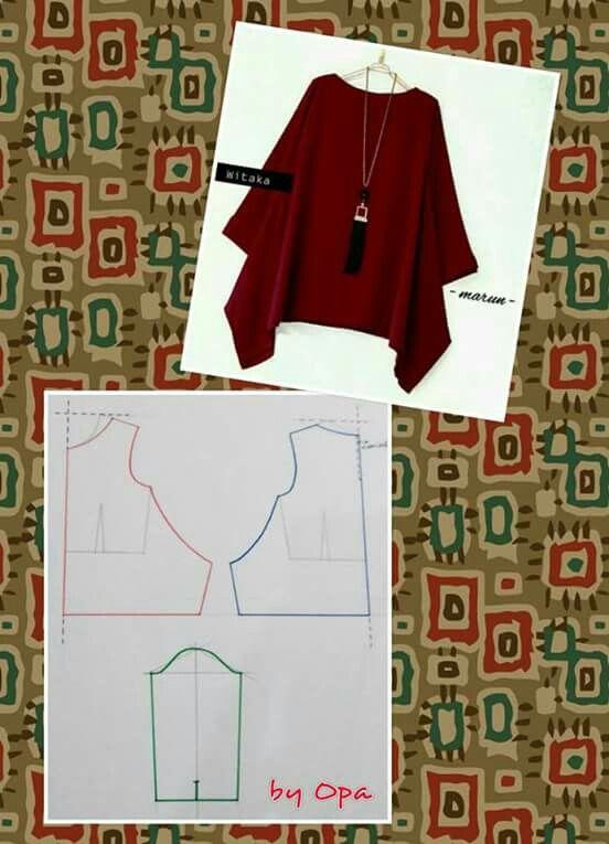 Blusas | patrones | Pinterest | Blusas, Costura y Patrones