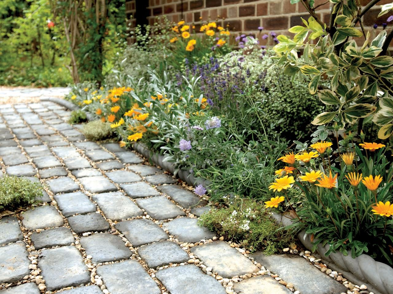 How to Build a Stone Path | Paths, Garden paths and Landscaping ideas