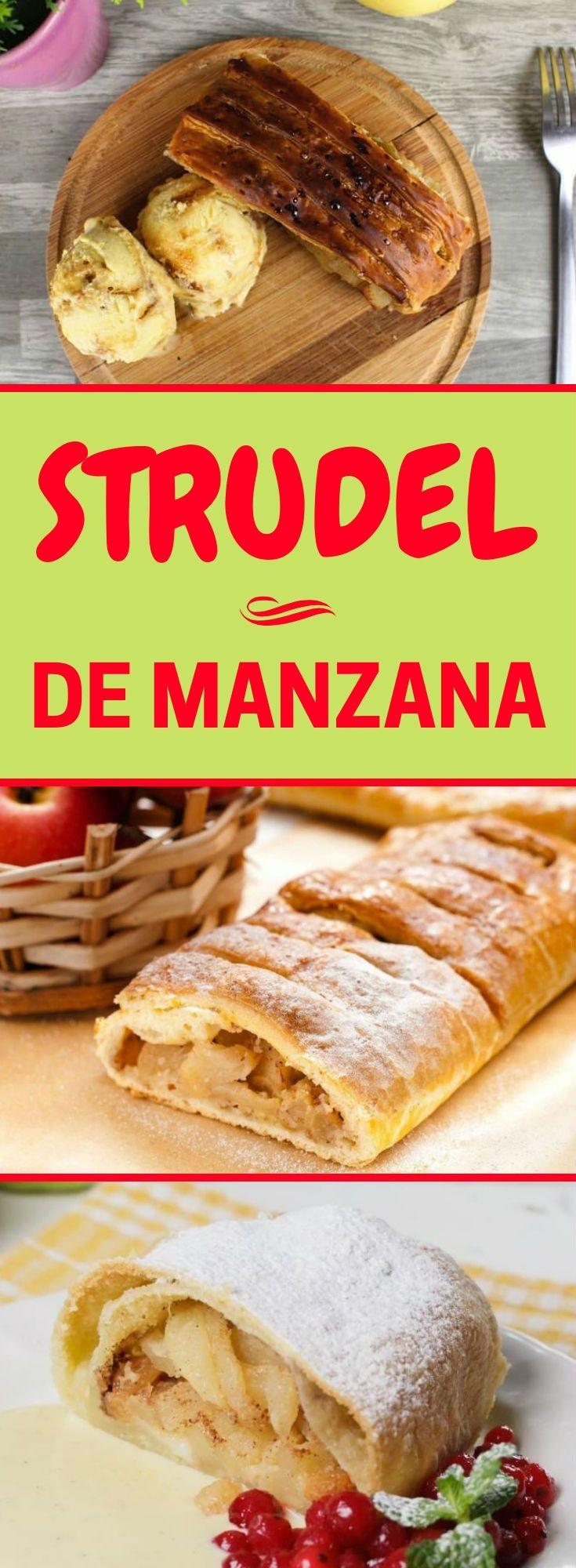 Strudel De Manzana Las Mejores Recetas Paso A Paso Quiero Quierocakesblog Strudel De Manzana Receta Strudel De Manzana Pay De Manzana Receta
