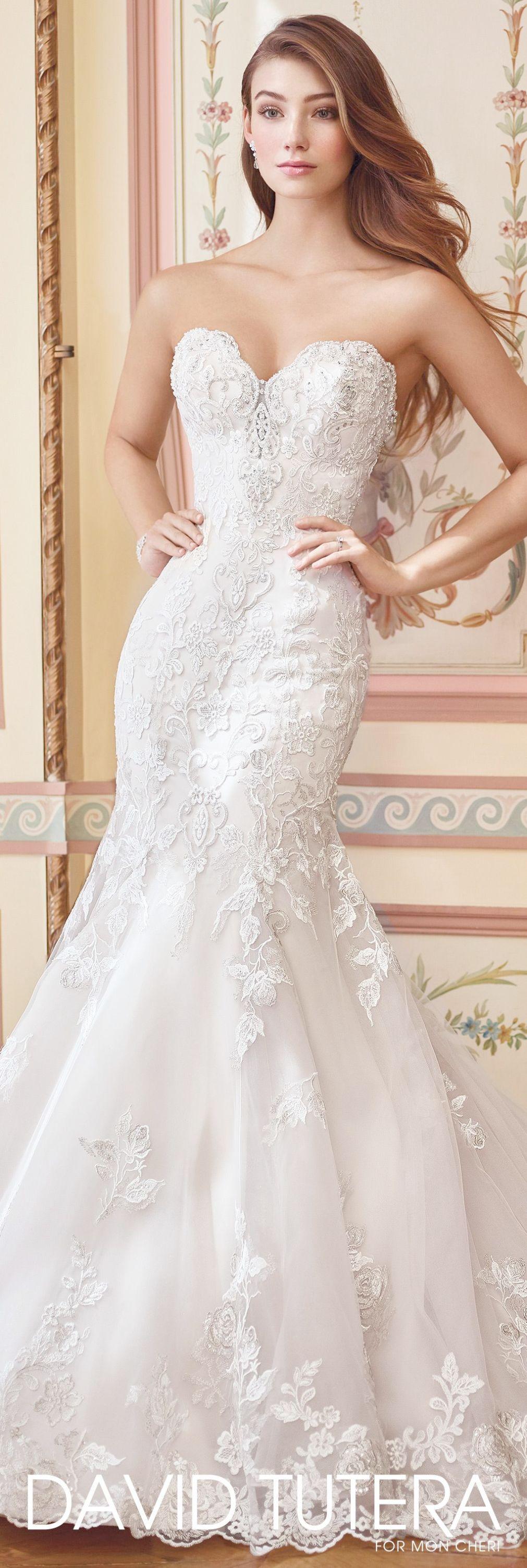 Lace sweetheart wedding dress long sleeve lace mermaid wedding dress