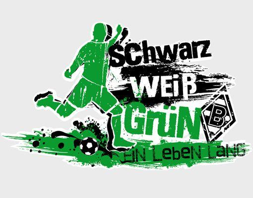 Wandtattoo Borussia Monchengladbach Ein Leben Lang Die Fohlen Fussball Verein Fussba Borussia Monchengladbach Vfl Borussia Monchengladbach Borussia Gladbach