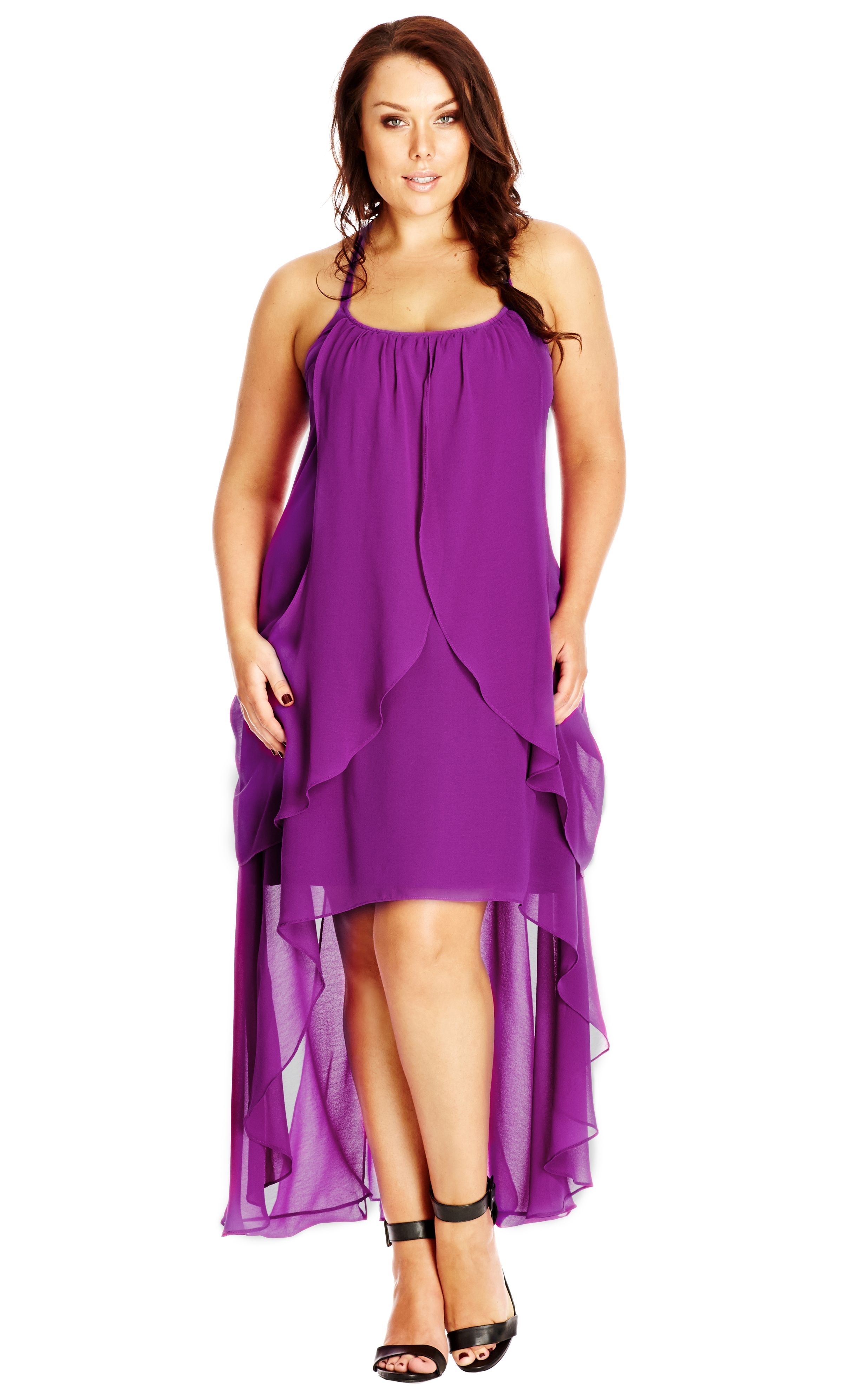 7b663616454 City Chic Drape Goddess Dress - Orchid - Women s Plus Size Fashion City  Chic - City Chic Your Leading Plus Size Fashion Destination  citychic ...