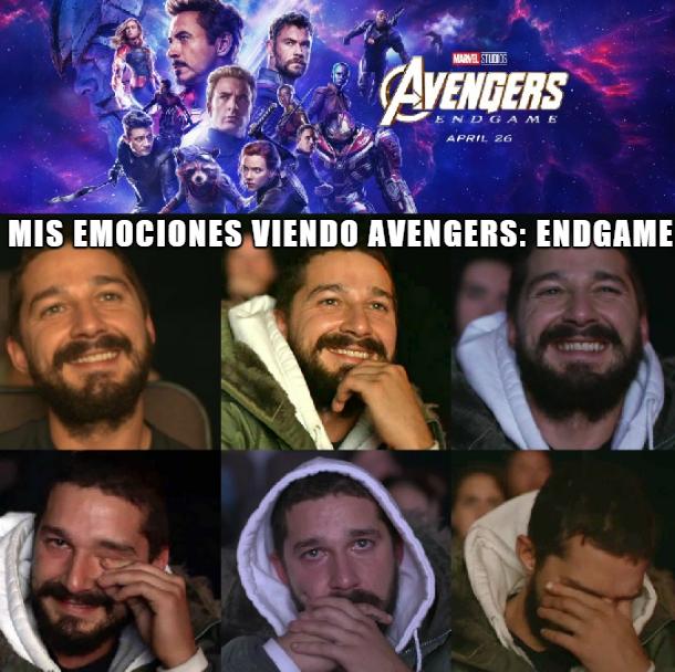 Los mejores memes del estreno de Avengers: EndGame